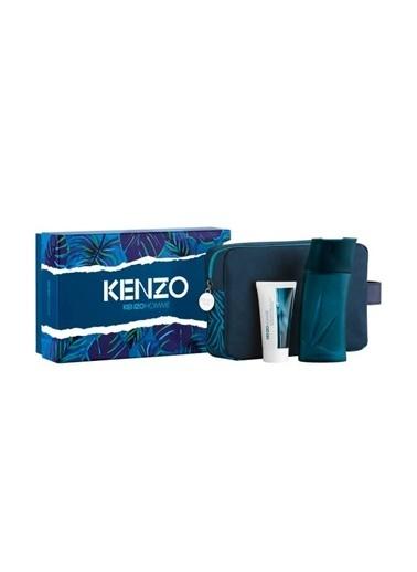 Kenzo Homme Edt 100Ml+ As 50Ml Erkek Parfüm Set Renksiz